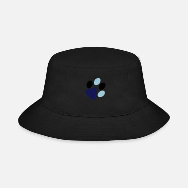 Abdruck Cat Paw Print__V001 - Bucket Hat