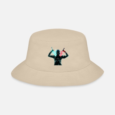 Art Sword art online kirito swords Dragon Slayers 5934 - Bucket Hat