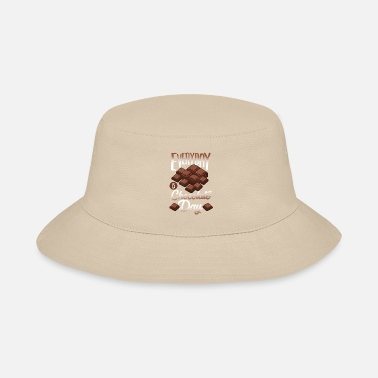 Line Chocolate - Candy Bar Sweet - Store T-Shirt - Bucket Hat