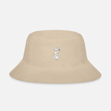 Coil Rattlesnake Coiling on - Bucket Hat