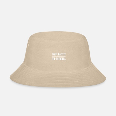 Wing political racism radical right-wing racist T-shirt - Bucket Hat