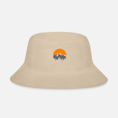 Mountains Mountains - Bucket Hat