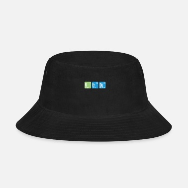 Comics Nerdy chemistry periodic table - Bucket Hat