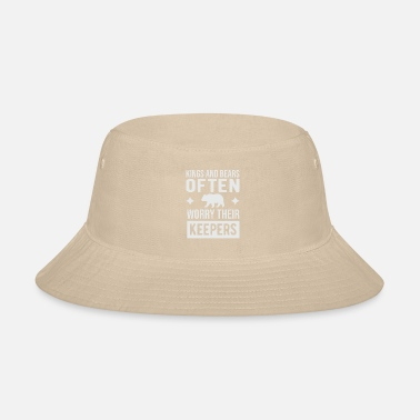 Black And White Collection Kings and bear often worry their keepers - Bucket Hat