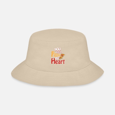 Pink Heart You got a pizza my heart - Bucket Hat