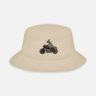 Cool-cute-stylish-mustaches FURPSTER MOTORCYCLE - Bucket Hat