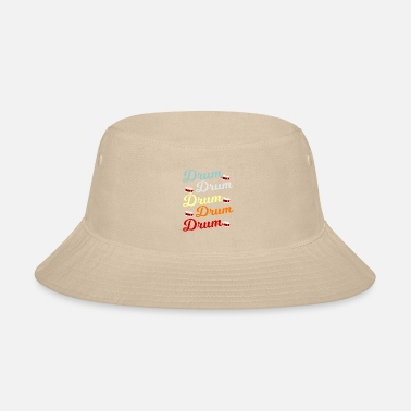Loud Music Drum Drummer Gift - Bucket Hat