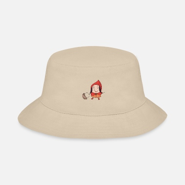 Fairy Tale Figure red fairy tale - Bucket Hat