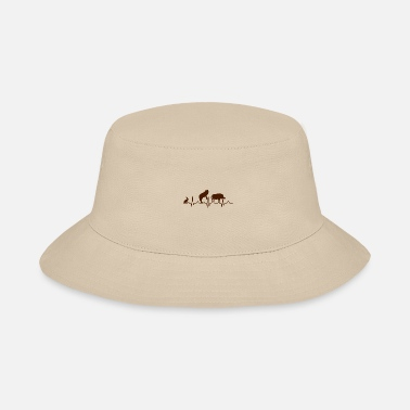 Wild Boar Boar pulse gift hunter hunting hunter man - Bucket Hat