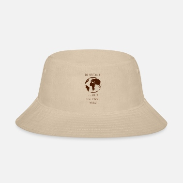 Environment Rotation earth day gift ecology climate change - Bucket Hat