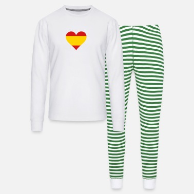 Quijote A Heart For Spain - Unisex Pajama Set