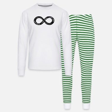 Math Math Infinite Love - Unisex Pajama Set