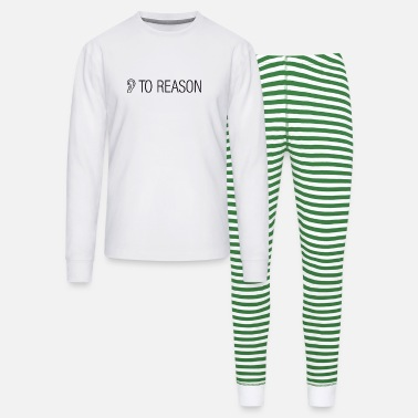 Trump - Listen to reason - concede - Unisex Pajama Set