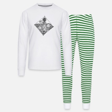Pen The Lined Design and The vector design. - Unisex Pajama Set