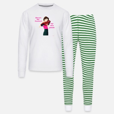 Girl Don't be fooled by the pink - Unisex Pajama Set