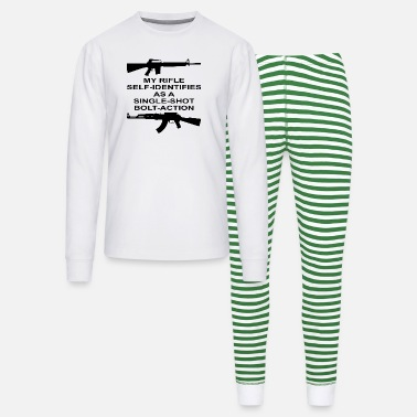 Bolt-action Rifles My Rifle Self Identifies As A Single Shot Bolt Act - Unisex Pajama Set