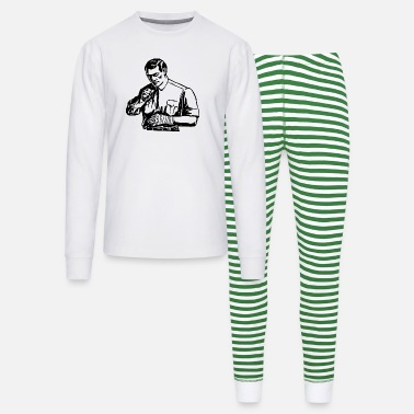 Bandage Man with Bandage - Unisex Pajama Set
