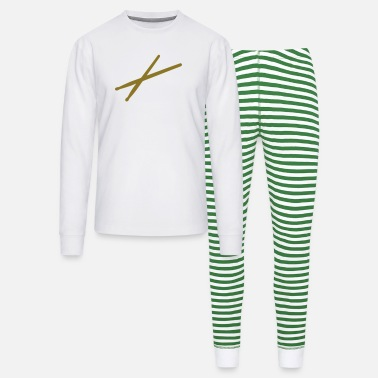 Drumsticks Drums - drumsticks - Unisex Pajama Set