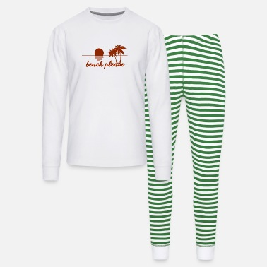 Grossier Beach pleaseBeach please - Unisex Pajama Set