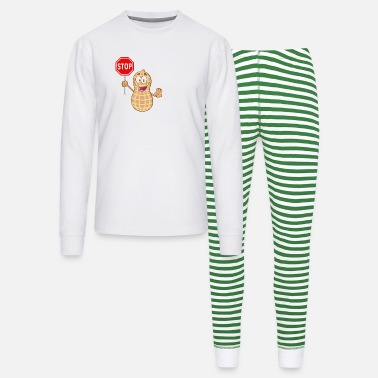 Peanut Allergy Cute Peanut Allergy - Unisex Pajama Set