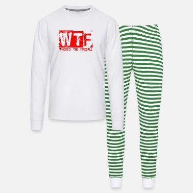 Wtf Fireball WTF WHERE'S THE FIREBALL trendy college frat party - Unisex Pajama Set