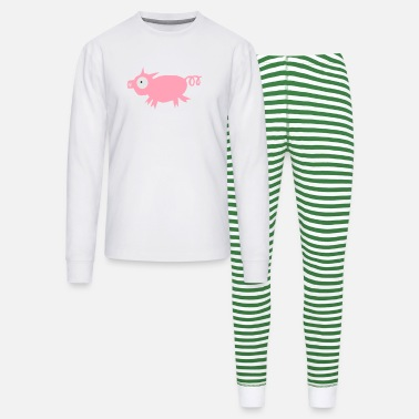 Gourmand Pig refixed - Unisex Pajama Set