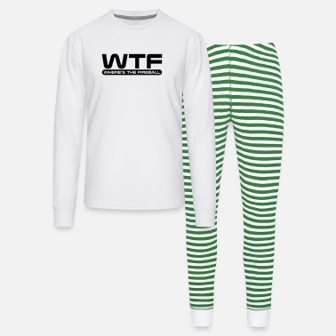 Wtf Fireball WTF - Where's The Fireball - Unisex Pajama Set