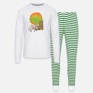Shiva Elephant India Hinduism Duddhism - Unisex Pajama Set