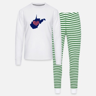 West Virginia West Virginia - Unisex Pajama Set
