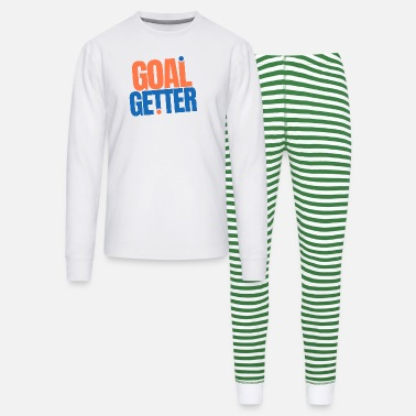 motivation goal getter quotes - Unisex Pajama Set