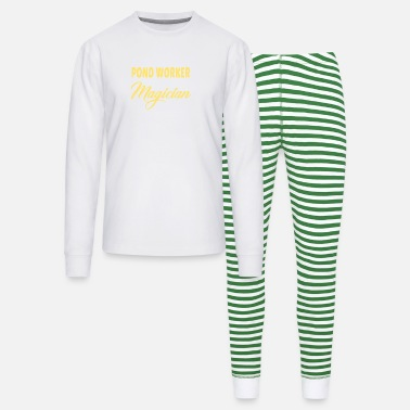 Pond Pond Worker - Unisex Pajama Set