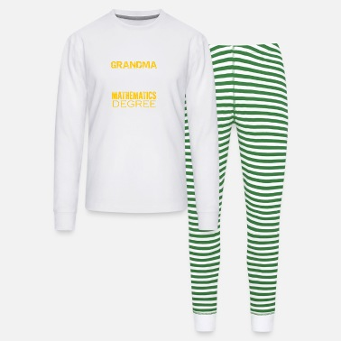 Mathematics Mathematics Grandma Shirt - Unisex Pajama Set