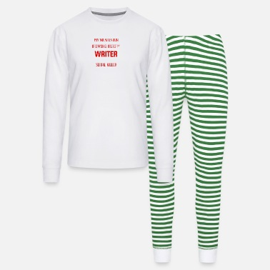 Pay No Attention to My Browsing History Writer - Unisex Pajama Set
