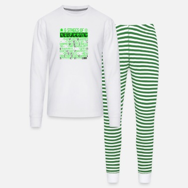 6 Stages of Debugging IT Coding Debugger Programme - Unisex Pajama Set