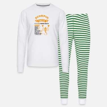 November Scorpio Facts SCORPIO FACTS - Unisex Pajama Set