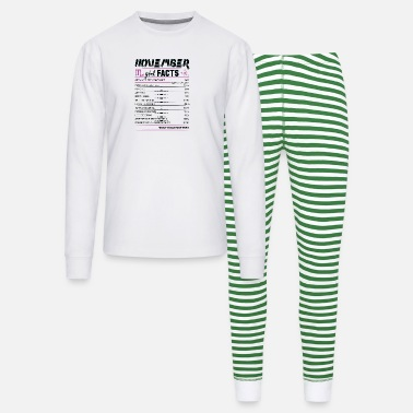 November Scorpio Facts November Girl Facts Scorpio - Unisex Pajama Set