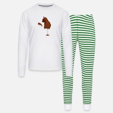 Gourmand ChocoCat - Unisex Pajama Set