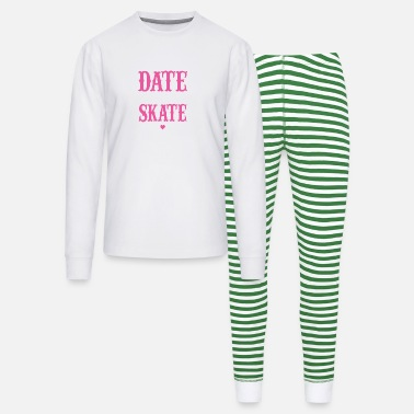 Alva Love Skate - We Can't Date If You Don't Skate - Unisex Pajama Set