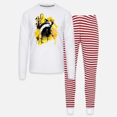 Harry Potter Hufflepuff Badger - Unisex Pajama Set