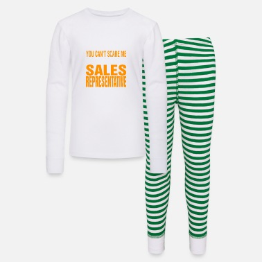 Sales Representative You Cant Scare Me Sales Representative Halloween - Kids' Pajama Set