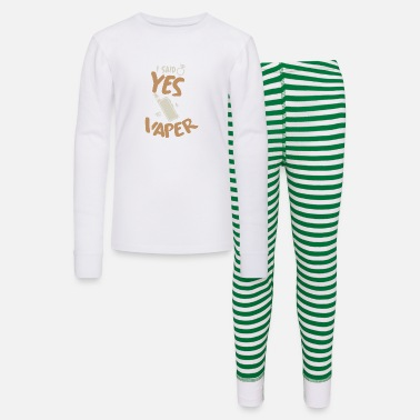 Vaper I said yes! Vaper - Kids' Pajama Set