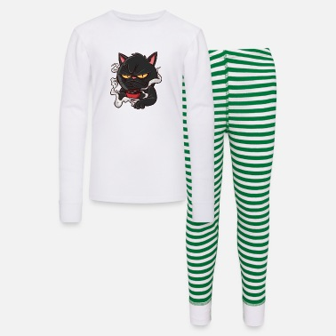 Banana Monday Coffee Cat - Kids' Pajama Set