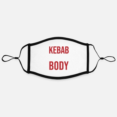 Kebab Kebab - Adjustable Contrast Face Mask (Large)