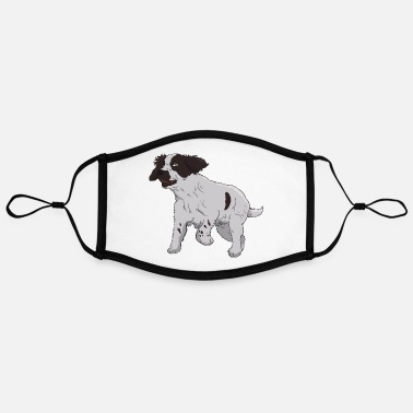 English Springer Spaniel English Springer Spaniel - Adjustable Contrast Face Mask (Large)