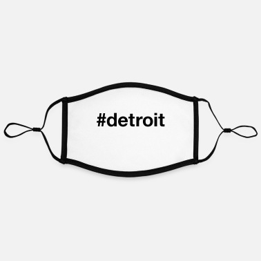 Detroit DETROIT - Adjustable Contrast Face Mask (Large)