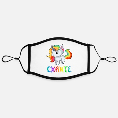 Chant Chante Unicorn - Adjustable Contrast Face Mask (Large)