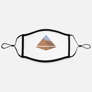 Pyramid Pyramide - Adjustable Contrast Face Mask (Large)