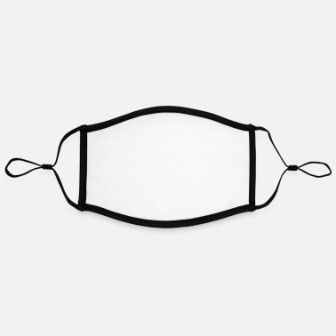 Date HAVE A DATE SHARK POINT - Adjustable Contrast Face Mask (Large)
