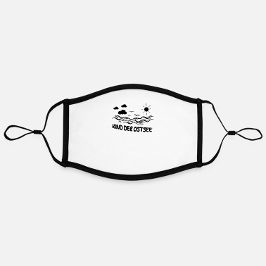 Baltic Sea Child of the Baltic Sea - Adjustable Contrast Face Mask (Large)