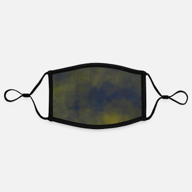 Indie DESIGNER'S GALAXY'S - Adjustable Contrast Face Mask (Small)